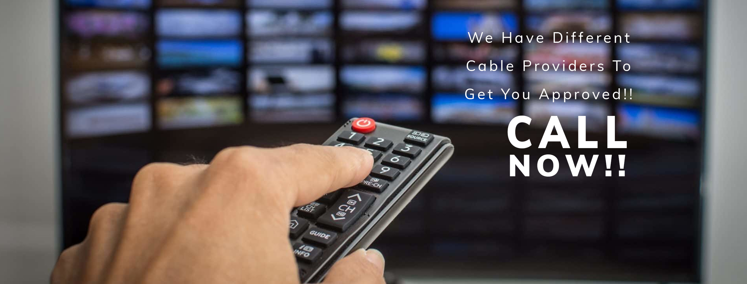 Different Cable companies for you